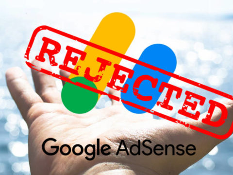 AdSense rejection