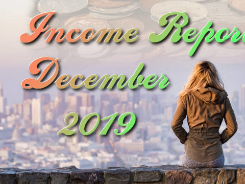 Blog income report December 2019