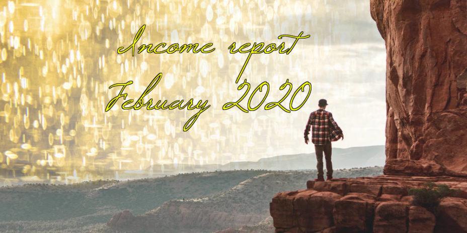 Income report February 2020