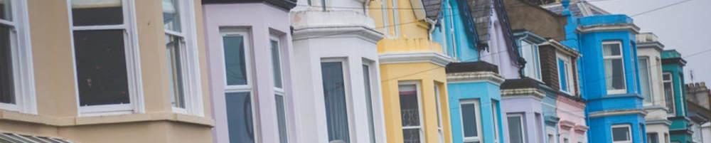 House Row - Viral Corona Economy